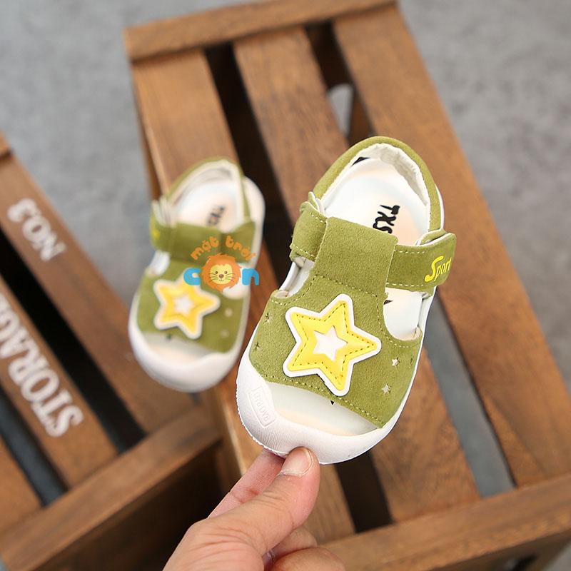 Sandal tập đi cho Bé trai hình ngôi sao dễ thương cho bé
