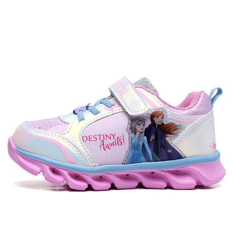 Giày thể thao Elsa có đèn led phát sáng