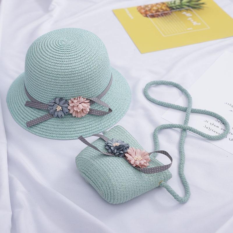 Combo mũ tiểu thư + túi xách siêu dễ thương cho bé
