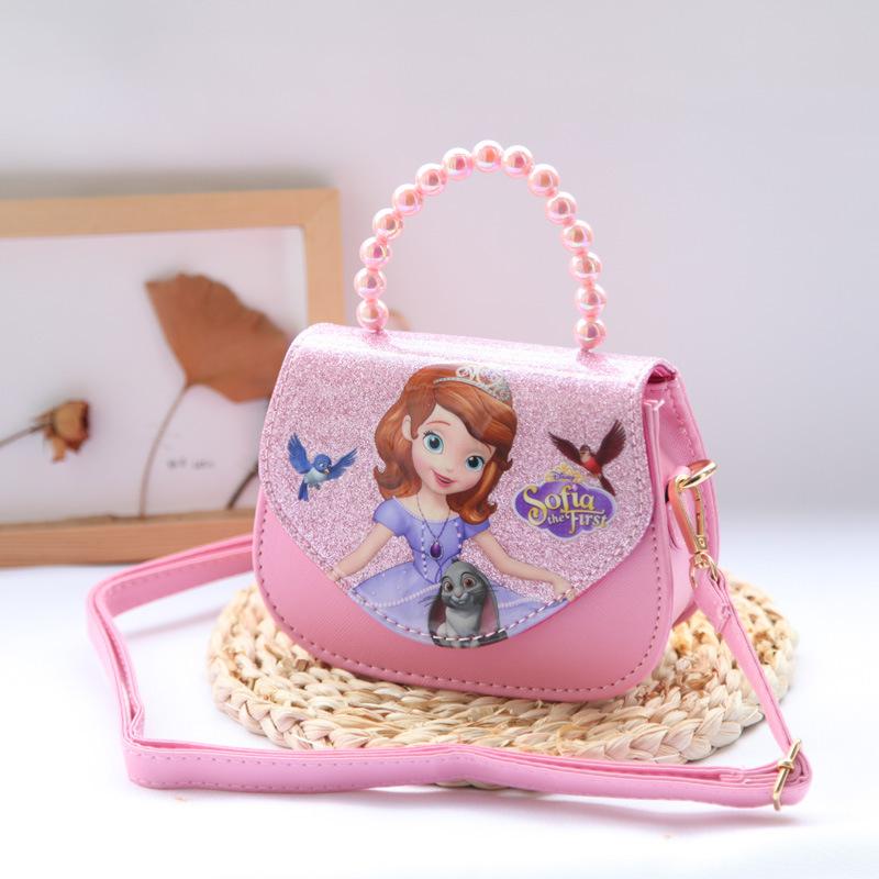 Túi xách cho bé gái đeo chéo hình công chúa Sofia