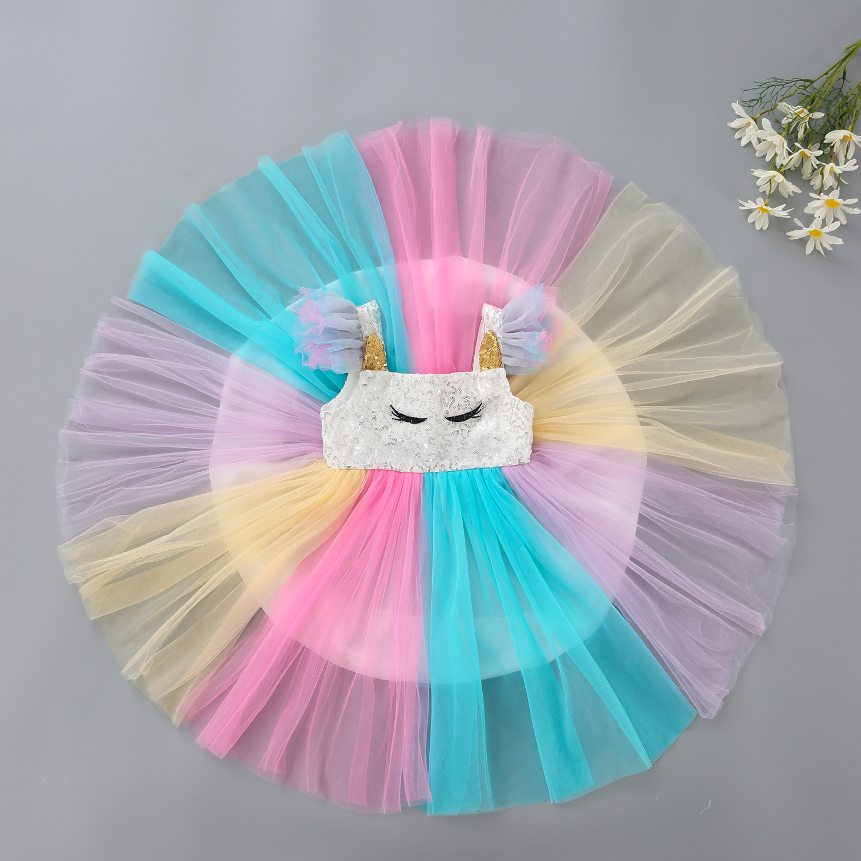 Váy công chúa ngựa Pony cho bé gái 2-5 tuổi - PN1