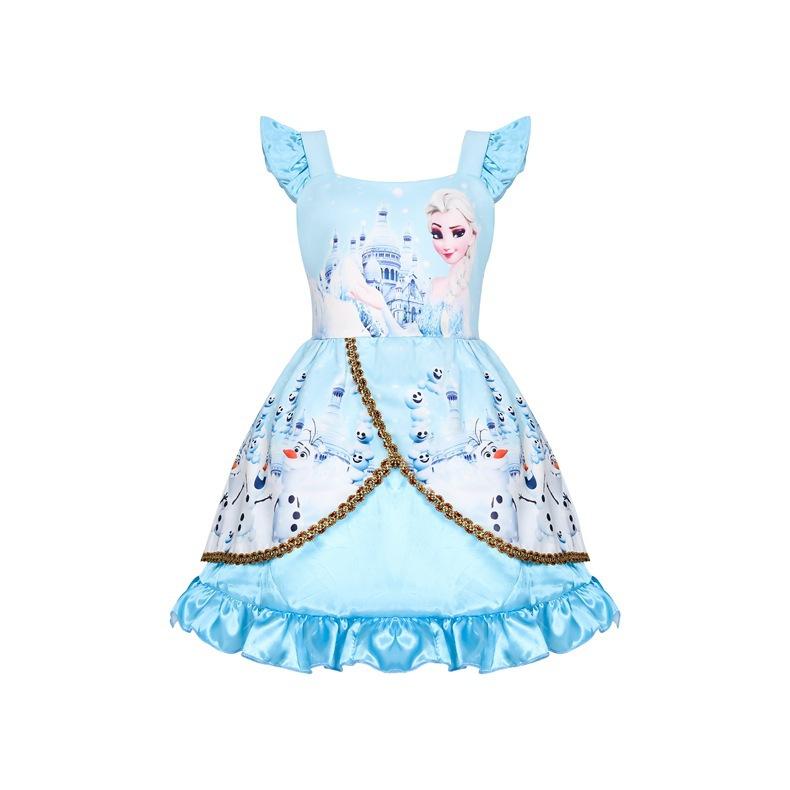 Váy nữ hoàng băng giá Elsa Frozen 2