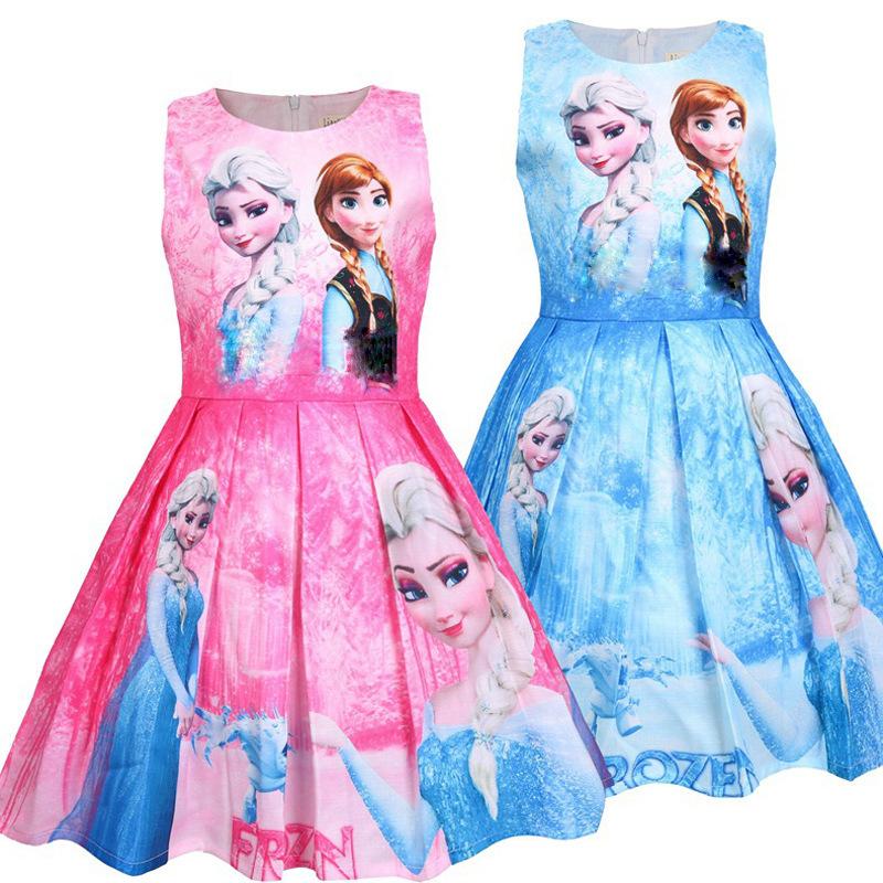 Váy elsa cho bé đi học