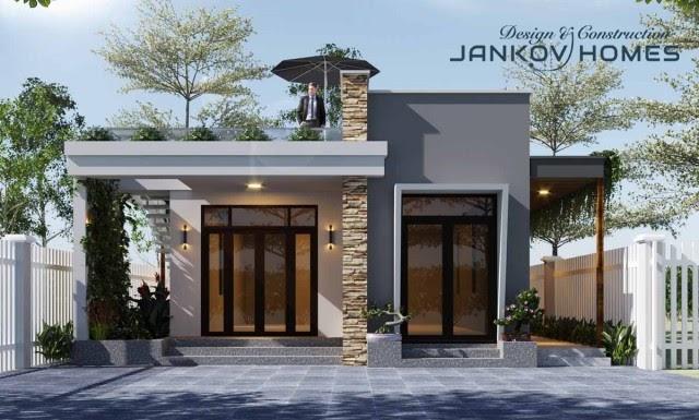 Cửa đi mở quay hệ Xingfa 1000 chất lượng giá rẻ - Jankov Homes