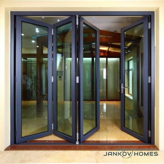 Cửa đi xếp trượt hệ Xingfa 63 - Jankov Homes