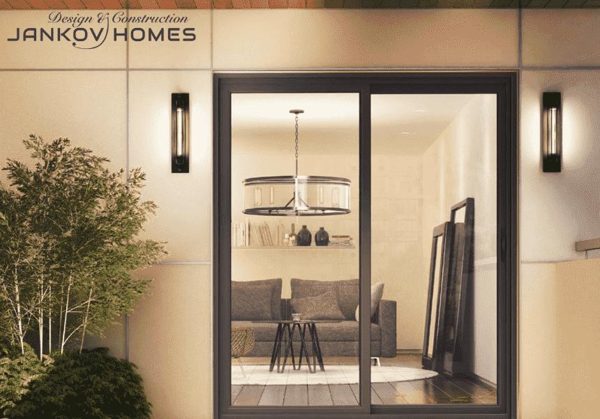 Cửa lùa nhôm Xingfa hệ 93 mẫu mới 2021 - Jankov Homes
