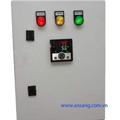 Tủ điện điều khiển hiện thị nhiệt độ độ ẩm