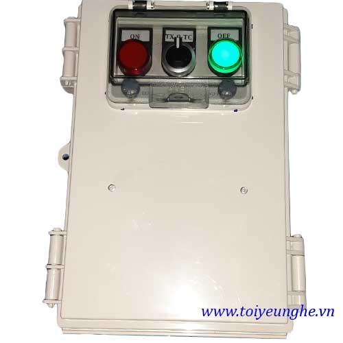 Tủ điện điều khiển từ xa bằng điện thoại GSM TU-AS01E-GSM 15KW