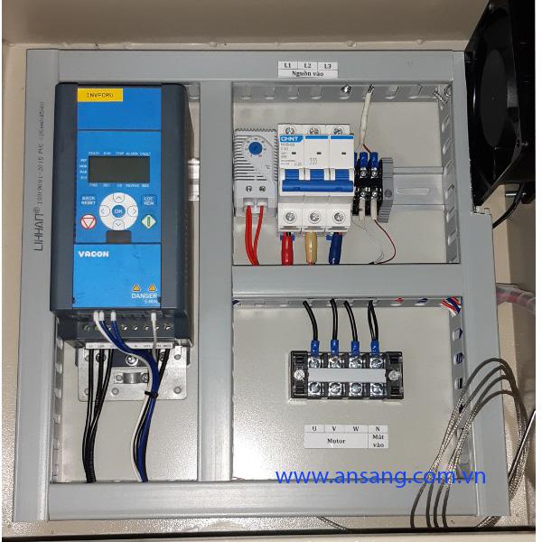 Tủ điện điều khiển động cơ tích hợp biến tần