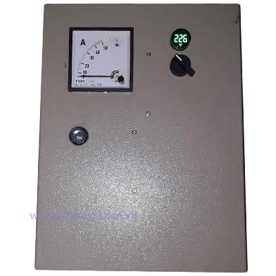 Điều khiển bơm nước từ xa 15kw, dùng được cho khu vực có điện áp thấp