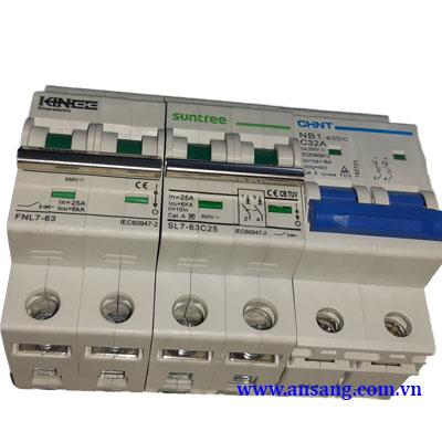 MCB DC Aptomat DC đóng cắt nguồn điện DC