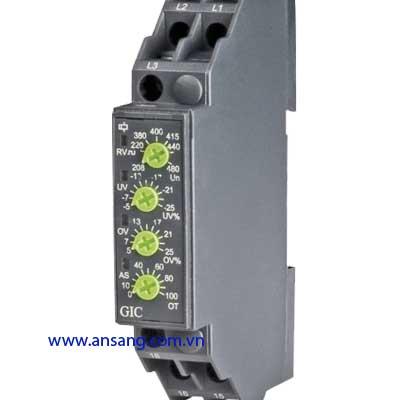 Relay bảo vệ cao áp thấp áp 3 pha