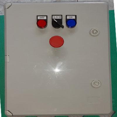 Tủ điện điện điều khiển bơm nước tích hợp cảm biến đo mức nước