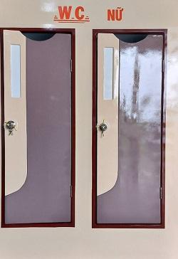 Nhà vệ sinh di động Composite WC nữ
