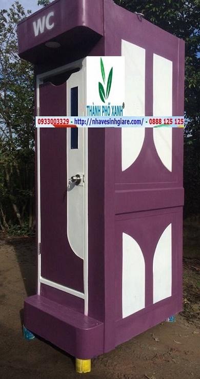 Nhà Vệ Sinh Di Động TPX Thành Phố Xanh - Công Nghệ Mới