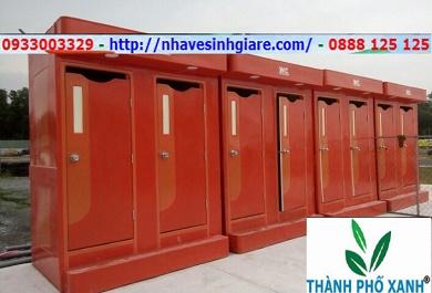 Nhà vệ sinh di động VS2C màu cam