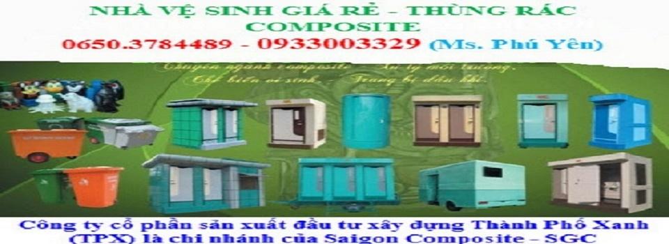 Tư Vấn - Sản Xuất - Bán & Cho Thuê nhà vệ sinh công trình TPX