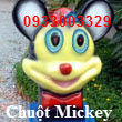 Thùng Rác Chuột Mickey TPX