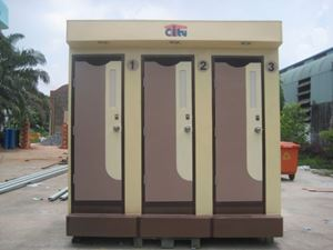 Nhà Vệ Sinh Di Động WC Toilet 3C TPX