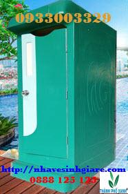 Nhà vệ sinh giá rẻ 1C