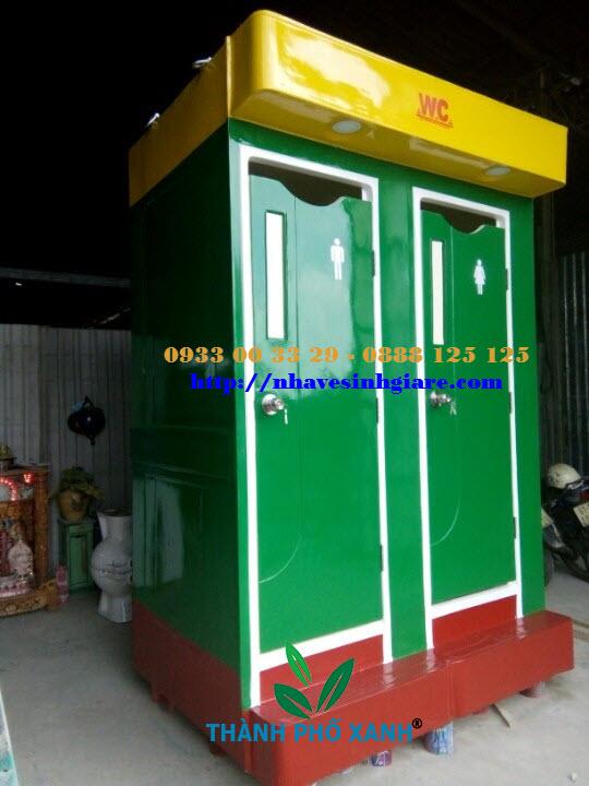 Nhà vệ sinh công cộng 2C TPX
