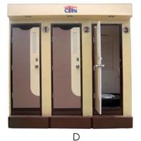 Nhà vệ sinh đường phố - 3C