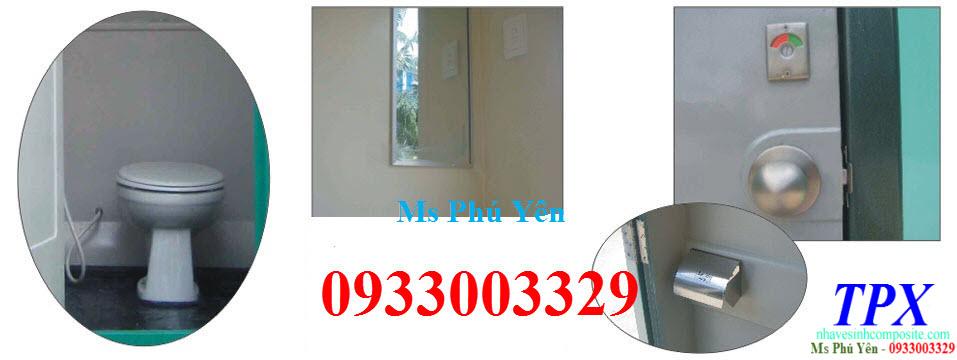 Nội thất nhà vệ sinh di động composite