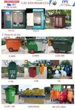 Sản phẩm nhà vệ sinh di động TPX