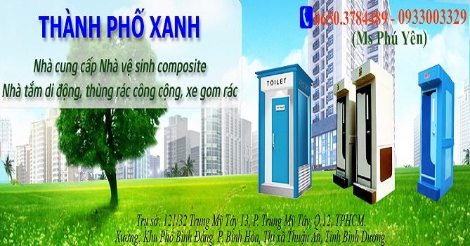 Cho thuê nhà vệ sinh di động trên toàn quốc