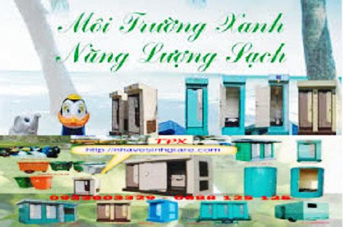 Tổng quan nhà vệ sinh di động TPX