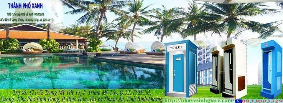 Nhà Vệ Sinh Di Động WC Toilet TPX