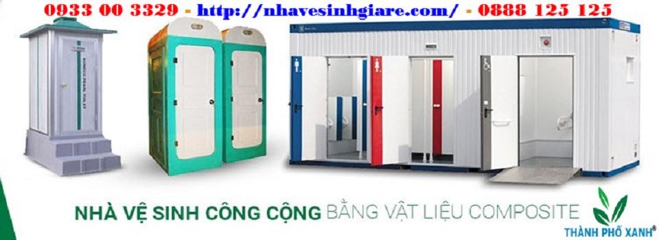 Nhà vệ sinh công cộng Composite TPX