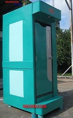 Nhà vệ sinh di động bằng nhựa Composite cà mau