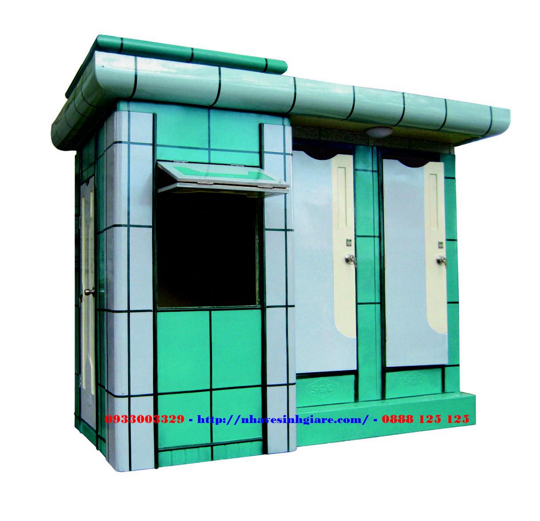 Nhà Vệ Sinh Di Động WC Toilet 3A