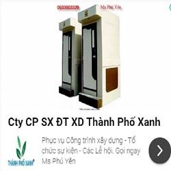 Nhà vệ sinh công trường TPX