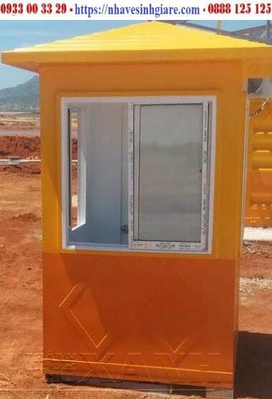 Cabin bảo vệ TPX màu vàng