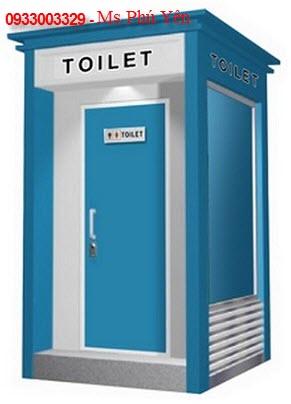 Nhà vệ sinh di động WC toilet 0933003329