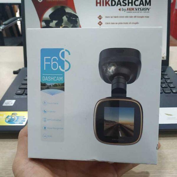 Camera hành trình F6S tích hợp màn hình cảm ứng IPS 1 inch