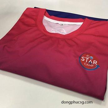 Đồng phục áo thun chuyển nhiệt quảng cáo công ty Nu Skin