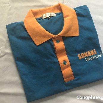 Đồng phục áo thun nam quảng cáo công ty Hako Unity
