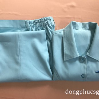 May đồng phục áo quần điều dưỡng bệnh viện Columbia