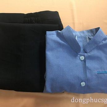 May đồng phục áo quần hộ lý bệnh viện Columbia