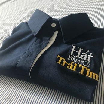 May đồng phục áo thun quảng cáo nhóm