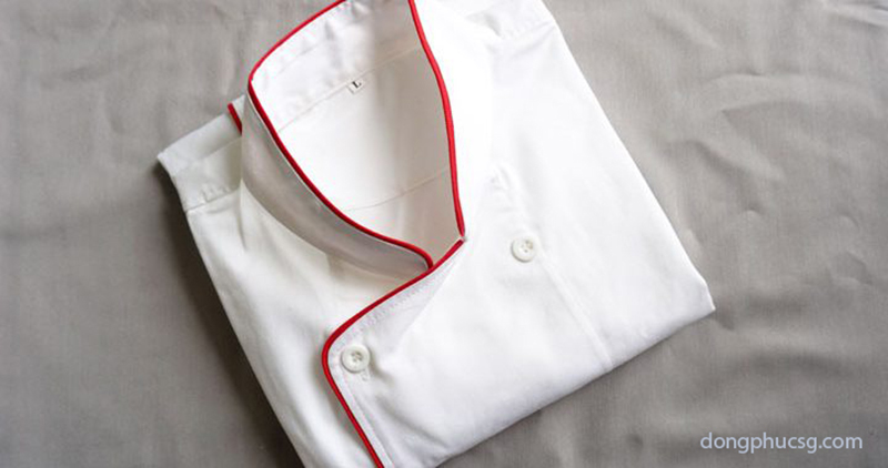 Áo đồng phục đầu bếp màu trắng