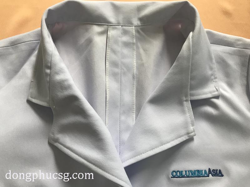 May đồng phục áo bác sĩ bệnh viện đẹp, chất lượng cao cấp