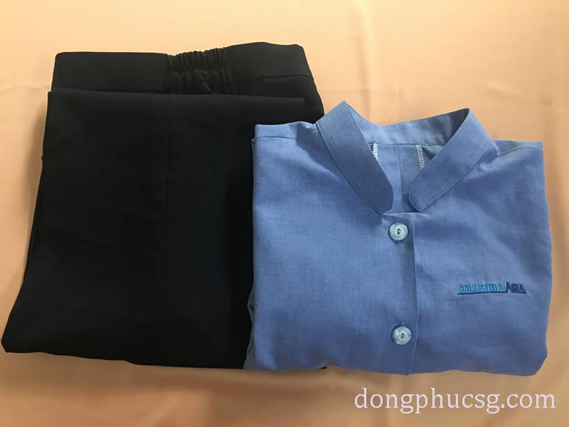 May đồng phục áo quần hộ lý bệnh viện đẹp, chất lượng cao cấp