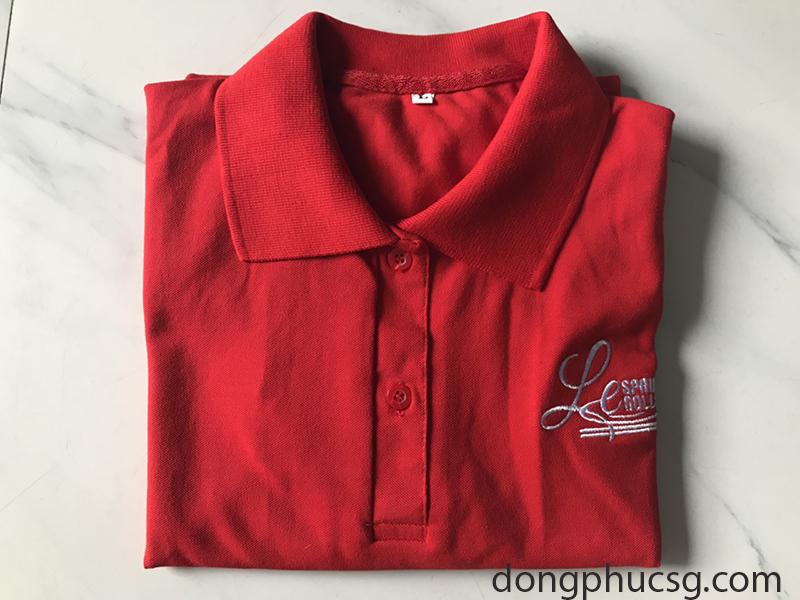 May đồng phục áo thun nhà hàng Lee Spring roll