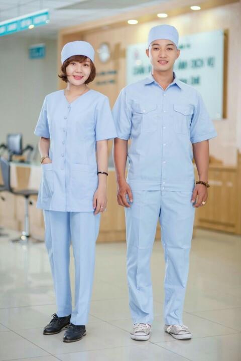 Sản xuất đồng phục áo blouse- Bác sĩ cho Bệnh Viện chất lượng