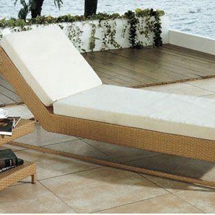 Giường bãi biển cao cấp kiểu dáng thanh lịch