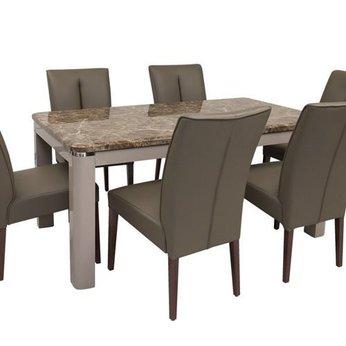 Bộ bàn ăn Hong Kong DI-653 ( bàn + 6 ghế )